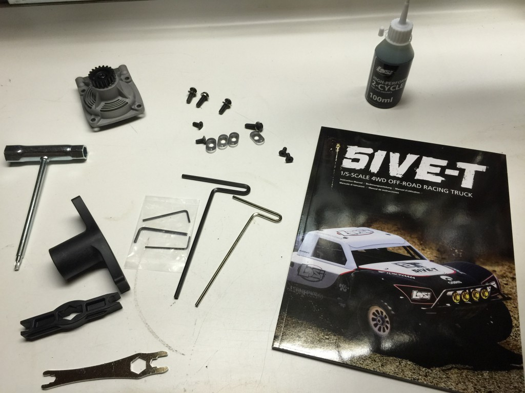 Losi 5ive-T Roller accessories