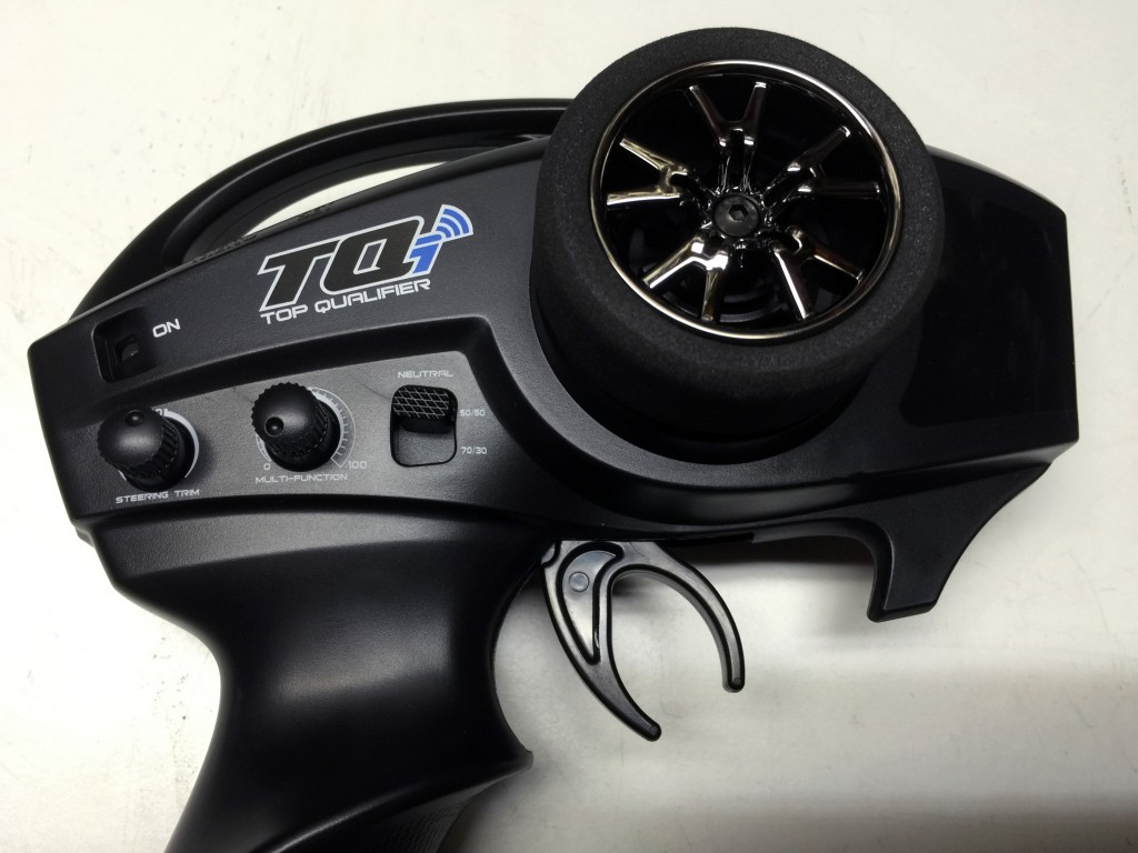 Traxxas TQi radio close-up