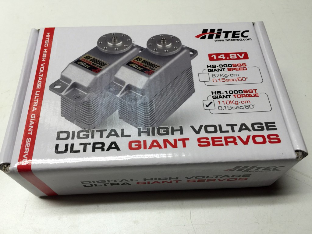 Hitec HS-1000SGT High Voltage Giant Torque Servo