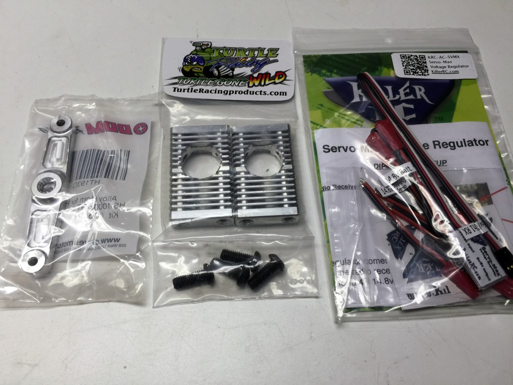 Hitec HS-1000SGT High Voltage Giant Torque Servo Conversion Kit for Losi 5ive-T