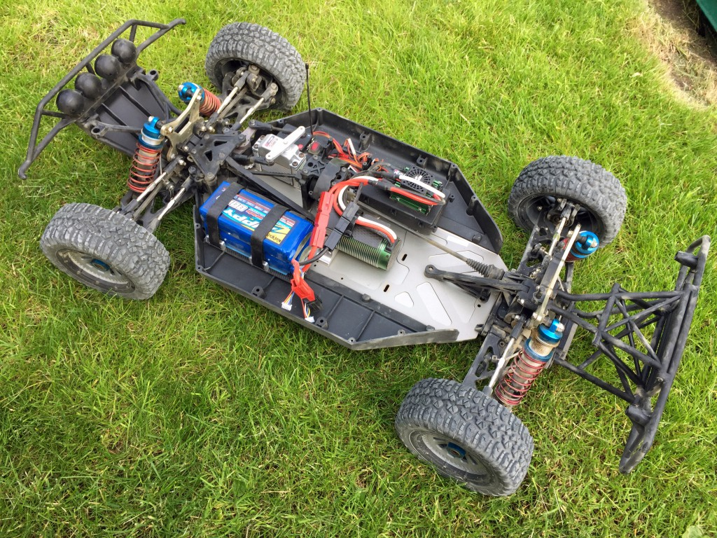 Losi 5ive-T Brushless Conversion